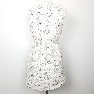 Cynthia Rowley | linen 100% | sleeveless dress